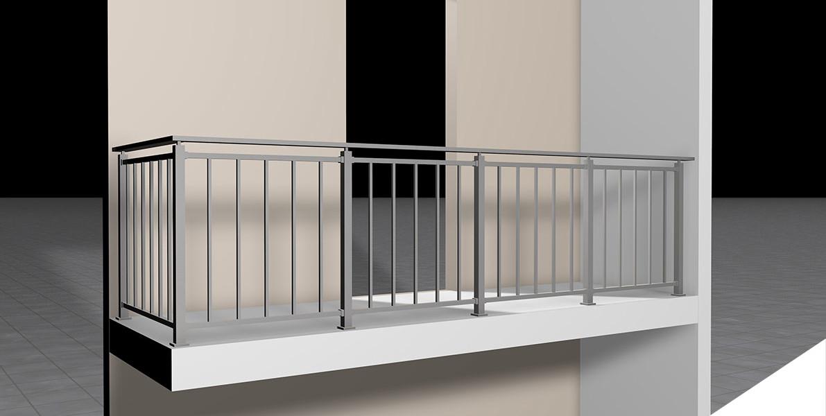 ringhiere per balconi ringhiere : Ringhiere per balconi AAS srl